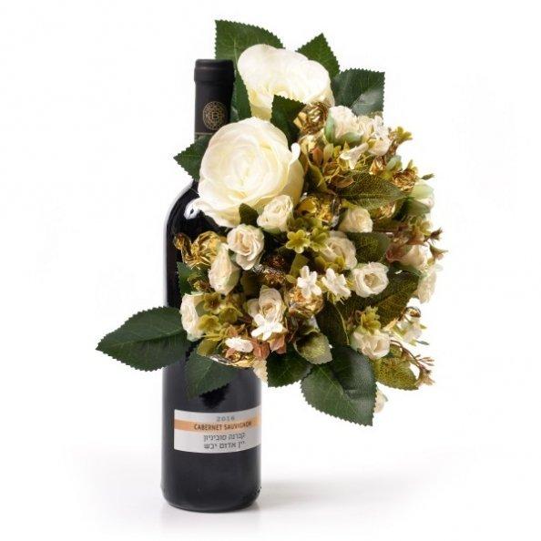 יין ופרחים