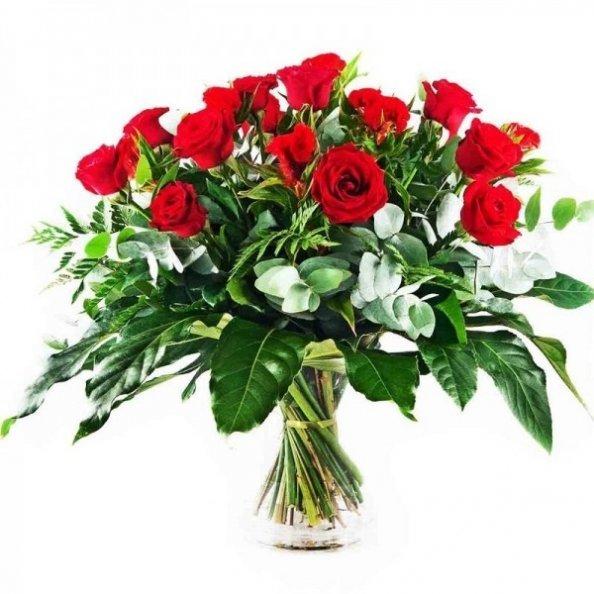 זר פרחים - חורפי