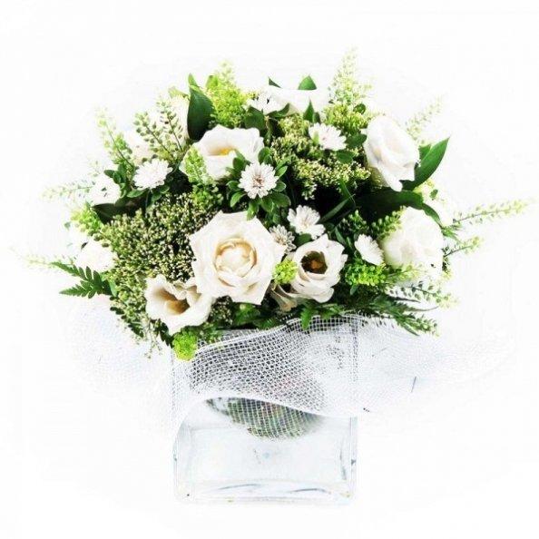 זר פרחים - האושר