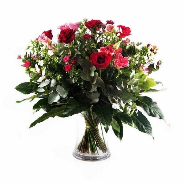 זר פרחים - ססגוני