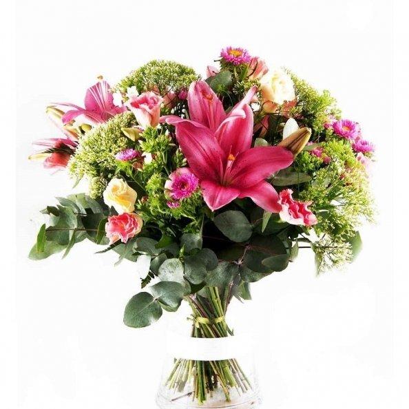 זר פרחים - סטארים