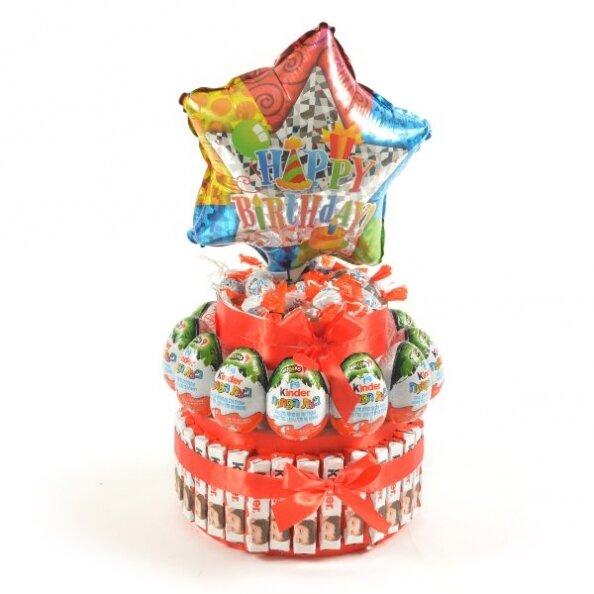 עוגת יום הולדת קינדר